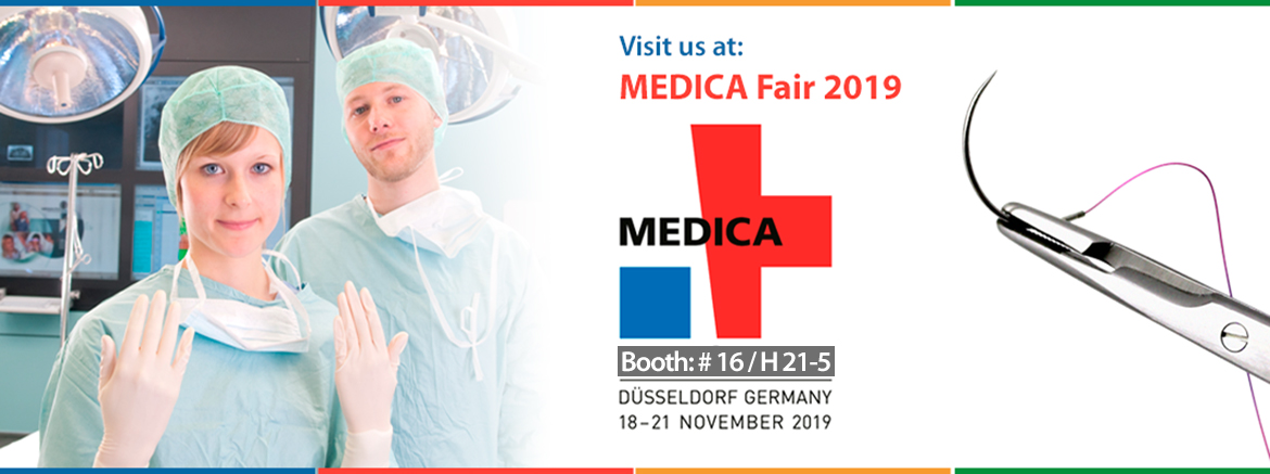 Suture Manufacturer at Medica 2019